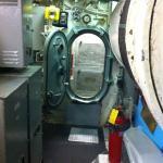 in the submarine