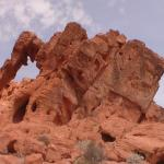 Elephant Rock at Valley of Fire.