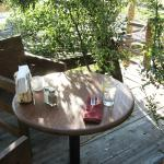Dining in a tree house is a uniquely delightful experience