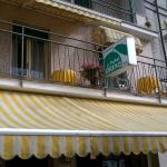 La facciata dell'hotel Diana
