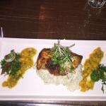 Grilled Chicken and Risotto
