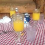 Sunday morning mimosas