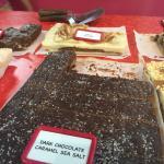 Amazing selections of fudge!!