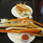 Are these not the biggest crab legs ever???