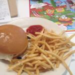 Prince of Royal burger with fries