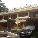 Hotel Villa Santa Clara, nice hotel, for a weekend with the family in Banios, Ecuador