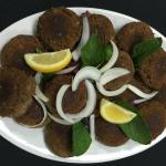 Shami Kebob - a delicious meat patty of spices, lentils and meat