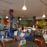 Cozy and welcoming corner cafe in down Alamosa.