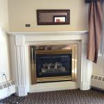 Gorgeous Gas Fireplace and Surround