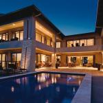 Exterior Night Property Pool