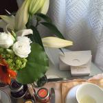 Very nice in room breakfast