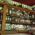 close to 100 options on whiskies