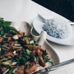 Blue rice :)