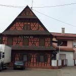 Frontansicht Hôtel à l'Ancre in Mothern