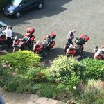 Five Ducati Mutistrada's ready for action