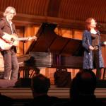 from a recent performance of Roseanne Cash (and her husband) performing at The Hall