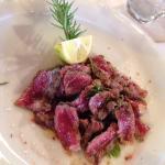 Filetto all'aceto balsamico, tagliata, grigliata mista, verdure grigliate
