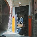 Entrance to hostel. Ask locally how to find it.