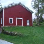 Square Red Barn