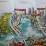 Vista 1.  Desde el Marina Barrage