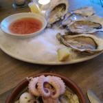 Oysters and fruit de mer