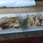 Sauted Mushrooms and Greek Salad