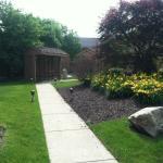 Courtyard- gate locked