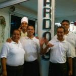 Hilario (chef), Nardo (bar tender), Norma (head wait staff), Armando (waiter) and Richie (waiter