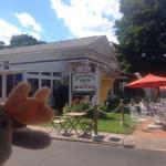 Great ice cream shop in Watkins Glen!