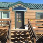Our KOA cabin for five.