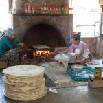 Pide making - Yakapark Trout Restaurant