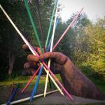 """""""Pick Up Sticks"""" by Myrna Orsini"""