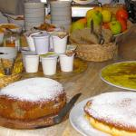 home baked breakfast