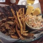 St Louis ribs & pulled pork