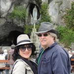 My husband David and I