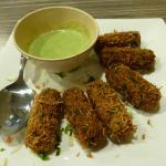 Cheese Palak Kebab