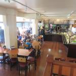 Inside the Sound View Cafe