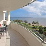 Large Balconies with views of the Esplanade or Coral Sea