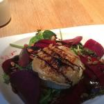 Goatcheese salad, day special