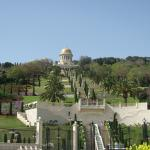 Bahai gardens Haifa - view from the bottom. This picture is from our previous trip in April 201