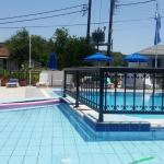 Lofos studio alykes room and pool area one of local beers