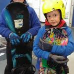 Snowboarding at Xscape