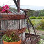 Sunset Winery Flower Planter