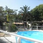 la piscine et les jardins