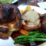 Roast pork sunday roast