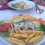 Four Cheese Fillet Steak