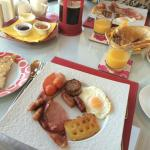 Full Irish Breakfast minus the black pudding