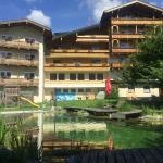 Gartenseite Hotel