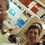 Evening at the Ekin restaurant
