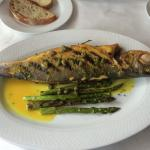 Brazino on the bone (mediterranean sea bass).